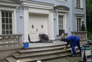 Renowacja schodów wejściowych